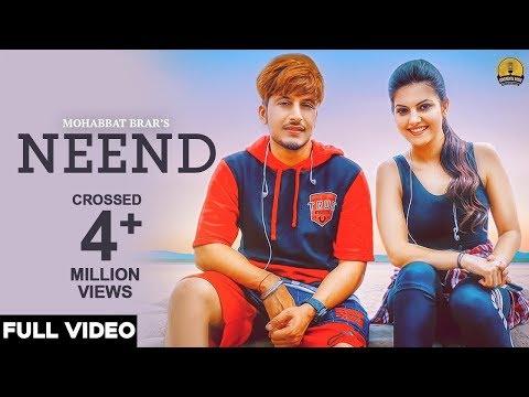 Neend (Full Video) - Mohabbat Brar - New Punjabi Song 2018 - Latest Punjabi Songs 2018