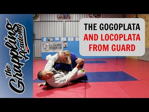 Gogoplata And Locoplata - From Closed Guard!