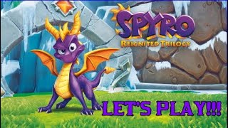 Spyro the dragon [let's play ] 12 chaine alpine