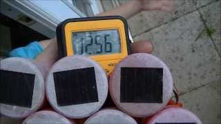 Solar Panel From Landscape Lights