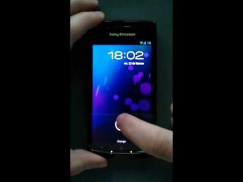 Sony Ericsson Xperia Arc con Android 4.1.2 (CM10)