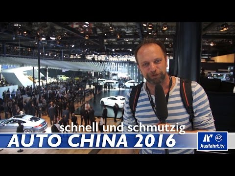 Auto China 2016, Peking - Audi, BMW, smart, Volkswagen