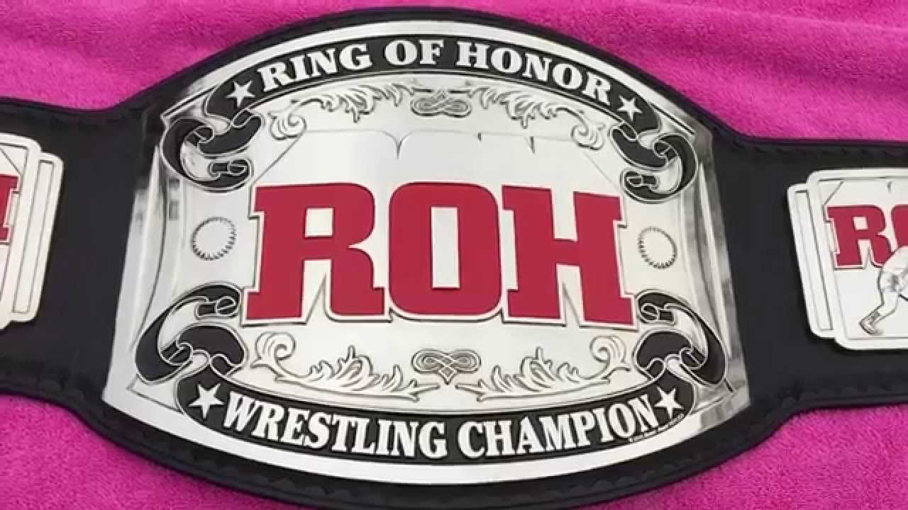 Roh World Title Roh World Title Belt