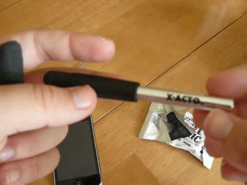 How to make a iPad / iPhone / iPod Touch Stylus