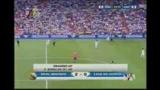 LIGA DE QUITO VS REAL MADRID SEGUNDO TIEMPO