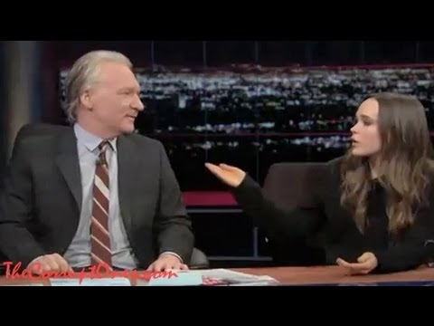 Ellen Page Talks 