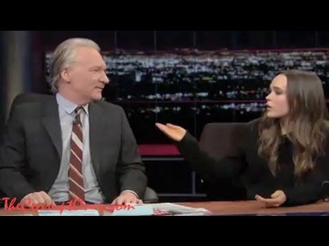 Ellen Page Talks