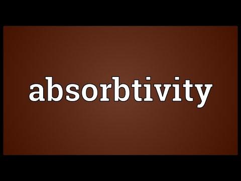 Header of Absorbtivity