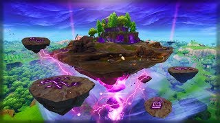 THE FORTNITE RUNES ARE COLLIDING RIGHT NOW! LOOT LAKE CUBE EVENT! (Fortnite Floating island LIVE)