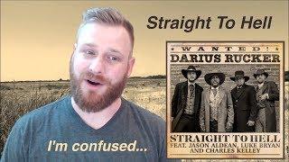 Darius Rucker - Straight To Hell (feat. Jason Aldean, Luke Bryan, Charles Kelley) | Reaction