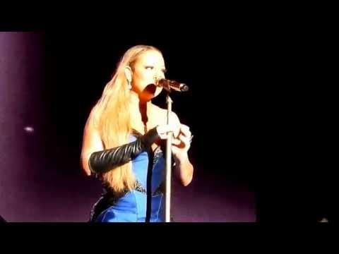 (hd) Mariah Carey - Hero Live Sirromet Wines, Brisbane, Queensland 16-11-2014 video