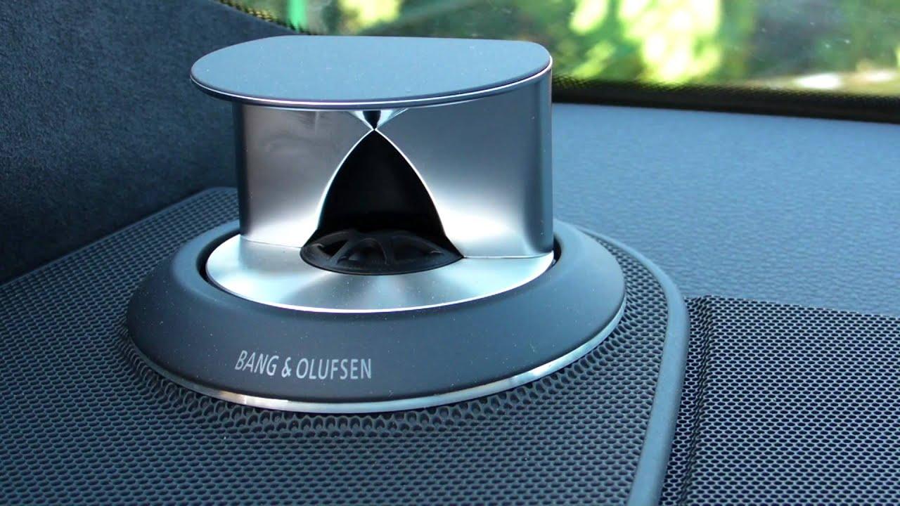 Audi Q7 Bang & Olufsen Sound Check - YouTube