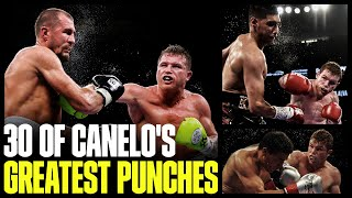 30 Of Canelo Alvarez's Greatest Punches