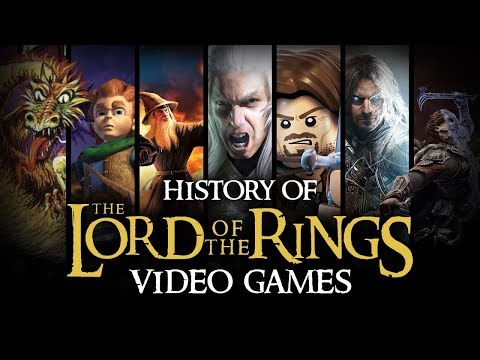 История игр The Lord of the Rings