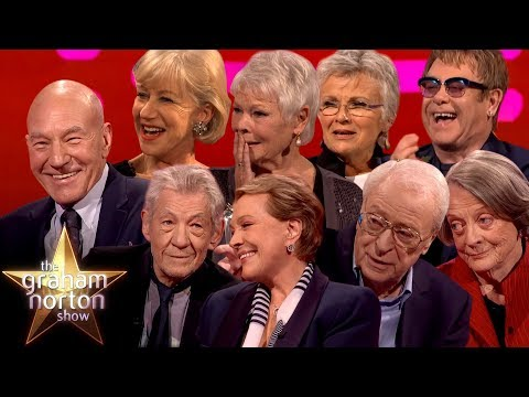 Download The BEST of Sirs & Dames On The Graham Norton Show Part Two Mp4 baru