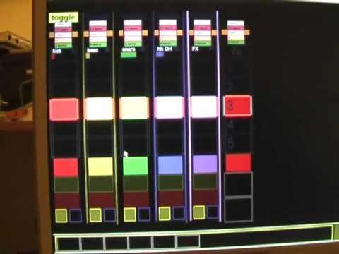 sensomusic usine ableton live touchscreen interface by 23fx23