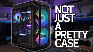 Building a PC in the New Cooler Master H500M (vs the H500P)!