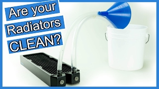 Cleaning & Flushing a PC Radiator Water Cooling TIPS for Beginners