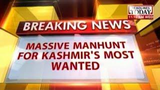 Hunt for Lashkar commander Irshad Ganaie