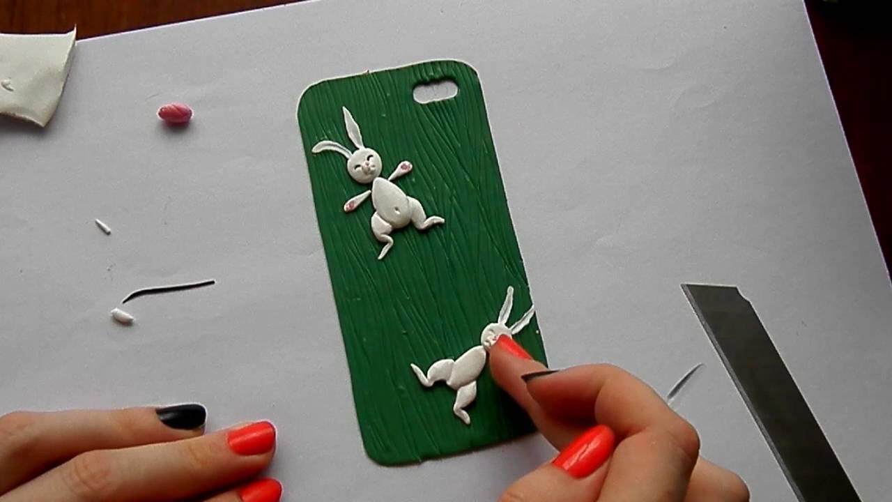 Чехол для телефона своими руками из полимерной глины 78