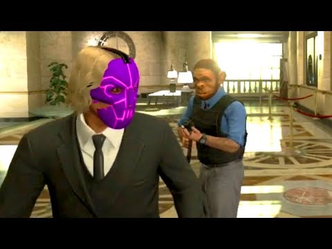 GTA 5 Funny Moments - THE HEIST MISSION - GTA 5 Online