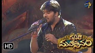 Adiga Adiga Song | Sudigaali Sudheer Performance | Dasara Mahotsavam| 30th September 2017 | ETV