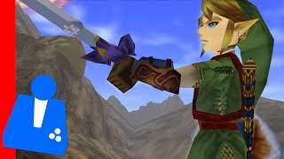 New Zelda Mod: Twilight Princess Link - - in Ocarina of Time!