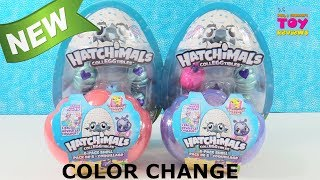 Hatchimals CollEGGtibles Series 5 Precious Pearl Color Change Unboxing Toy Review | PSToyReviews