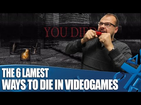 The 6 Lamest Ways To Die In Videogames