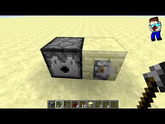 [Minecraft] Урок 71: Компактная турель. Баг с раздатчиком.