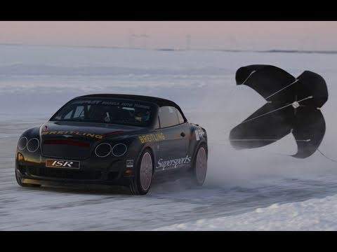► Bentley Supersports Ice Speed Record 2011 (205 mph)