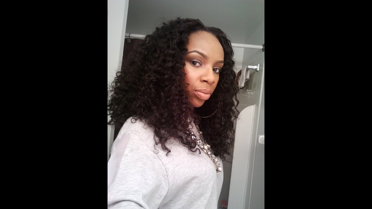 Jazz S Twist Out Brazilian Curly Hair Youtube