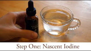 how to take nascent iodine