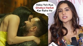 Sara Ali Khan Sh0cking Reaction On Father Saif Ali Khan Movie Jawani Janeman Trailer