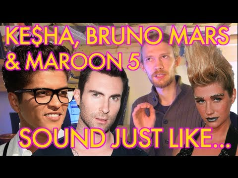 Ke$ha, Bruno Mars, & Maroon 5 Sound Like...