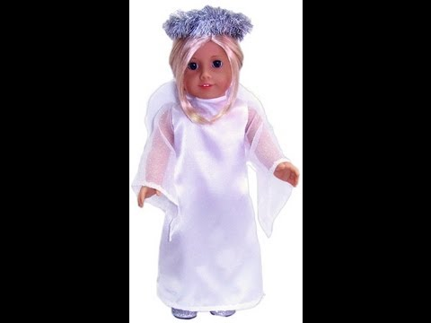 18 Inch American Girl Doll Clothes Patterns Angel Costume Release