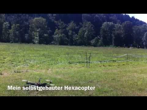 Mein selbstgebauter Hexacopter