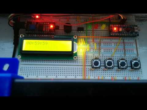 Arduino Timer / Stopwatch Tutorial - YouTube