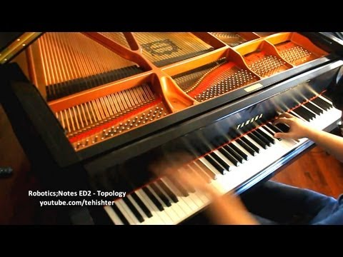 Robotics;Notes ED2 - Topology (Piano Transcription)