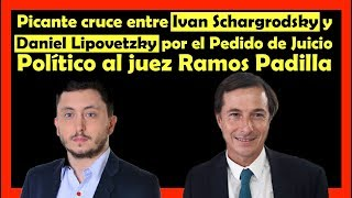 Picante cruce entre Ivan Schargrodsky y Daniel Lipovetzky