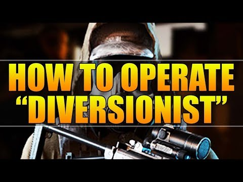 How To Operate - Diversionist Guide (Ghost War Diversionist Tips and Tricks)