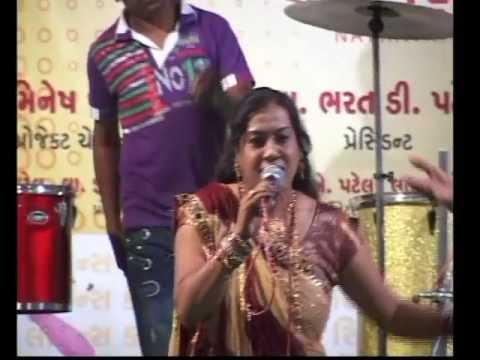 Gujarati Garba Song Navratri Live 2011 - Lions Club Kalol -...