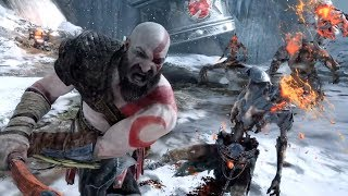 GOD OF WAR 4 - ALL 10 Minutes of Gameplay So Far PS4 2018 God of War 4 Gameplay Trailers