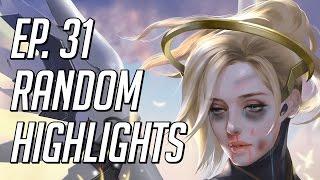WTF Mercy? Random Overwatch Highlights - Episode 31