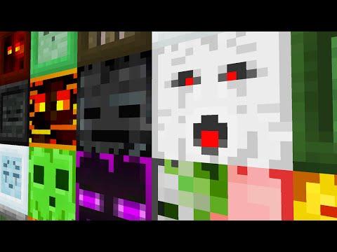 БЛОКИ С МОБАМИ - Minecraft (Обзор Мода)
