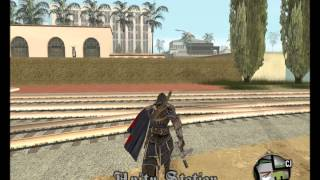 GTA SA - HUD Mod [Assassin's Creed Brotherhood] #Final Version