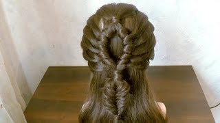 A simple hairstyle VERY BEAUTIFUL - hairstyles 2018