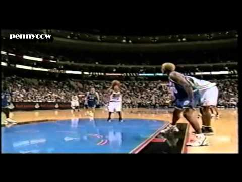 Allen Iverson 35pts Highlight vs Dirk Nowitzki, Dennis Rodman the Mavs 99/00 *AI 15/18 FG