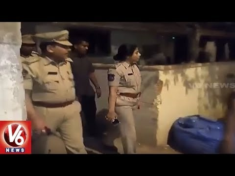 Hyderabad Police Conducts Cordon & Search Operation In Shamshabad | Seizes 42 Vehicles | V6 News