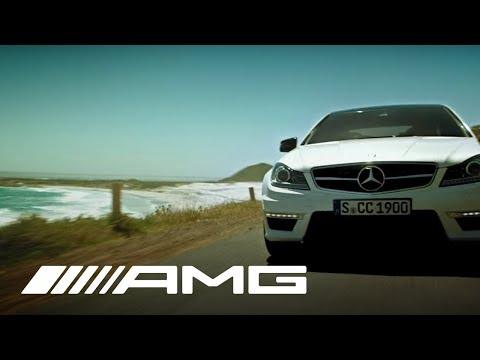 The New C 63 AMG Coupé Commercial